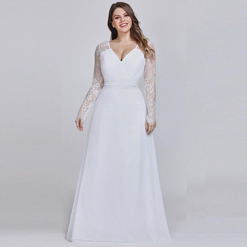 Svatební šaty pro baculky Ostrava levně  35cef39be3