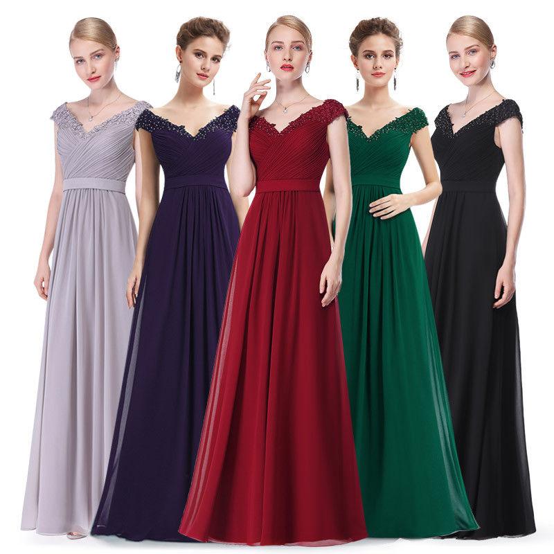 Dlouhé šaty na ples svatbu do tanečních  946c639b81