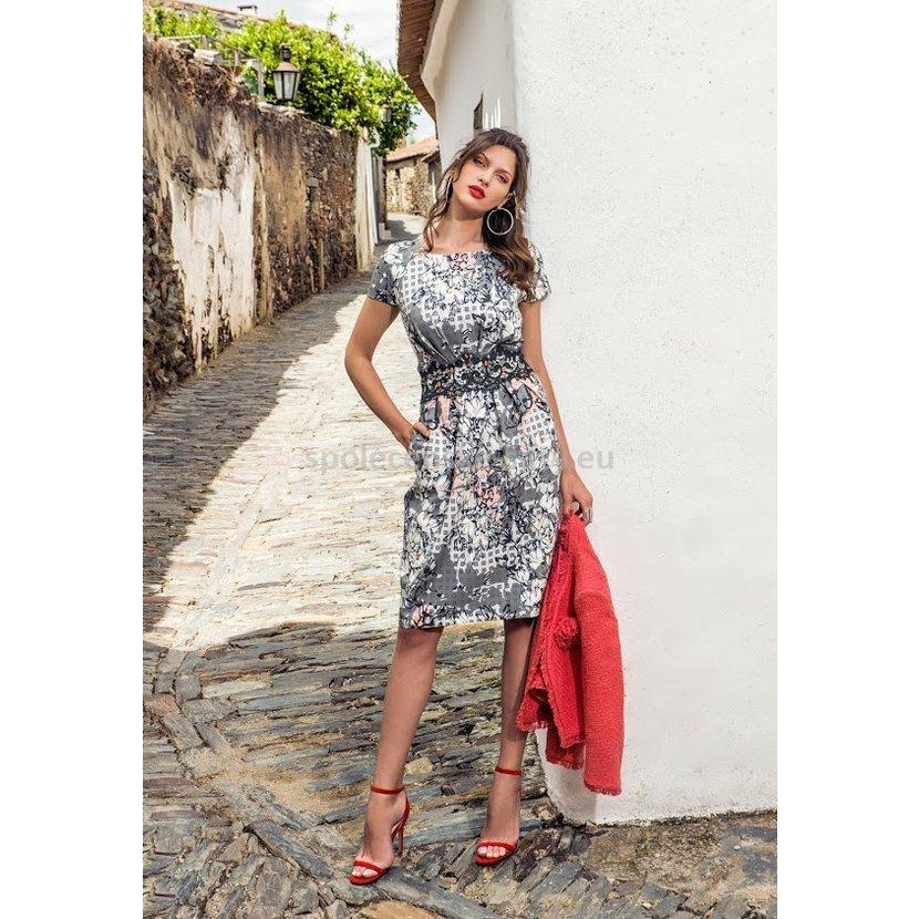 Luxusní krátké šaty pro svatební maminku nadměrné 48  23e2ff6735