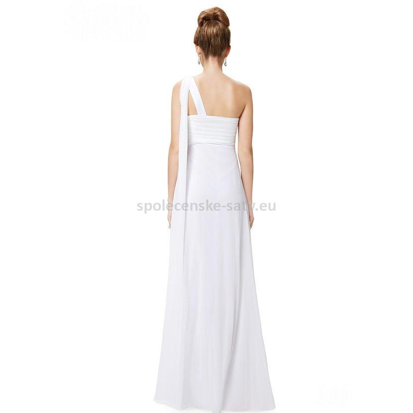 c81d9b4d6276 Bílé dlouhé svatební šaty na rameno empírové i pro těhotné 34 XS · bílé  svatební šaty antické pro těhotné na svatbu ples Ostrava Opava