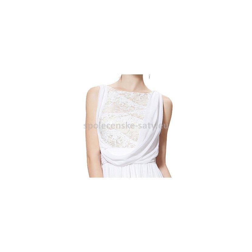 d475c1f200b ... šifon antická bohyně 40 L · bílé dlouhé svatební šaty jednoduché i pro  starší nevěstu Bohumín Opava Bílovec · levné svatební šaty pro krásnou  nevěstu