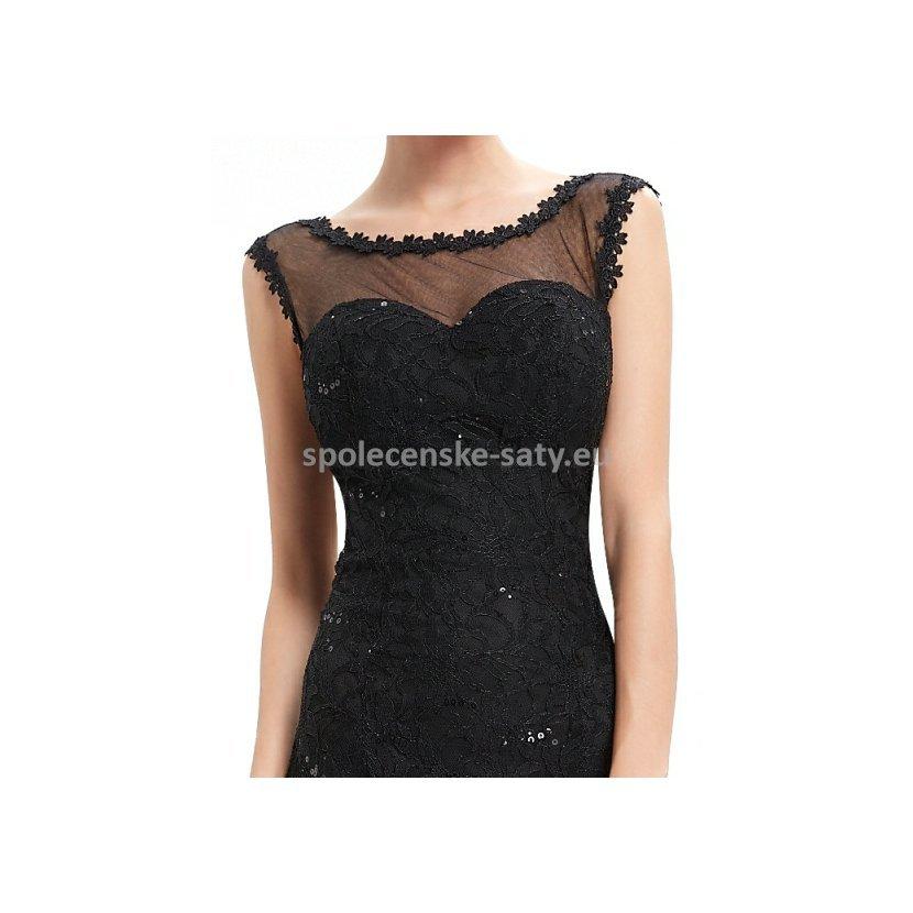 c68fd6b06153 Sexy černé dlouhé šaty s holými zády 42 xl