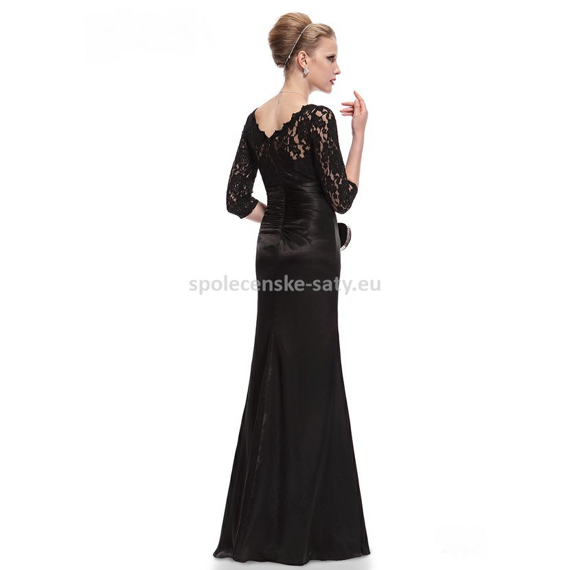 e19e7a9657c elegantní černé večerní šaty na ples svatbu do tanečních Ostrava Frýdek  Frýdlant