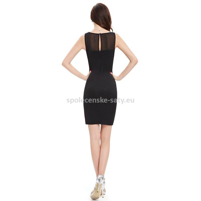 94bff3f5c864 ... večírek 42 XL. černé krátké pouzdrové šaty koktejlky do divadla