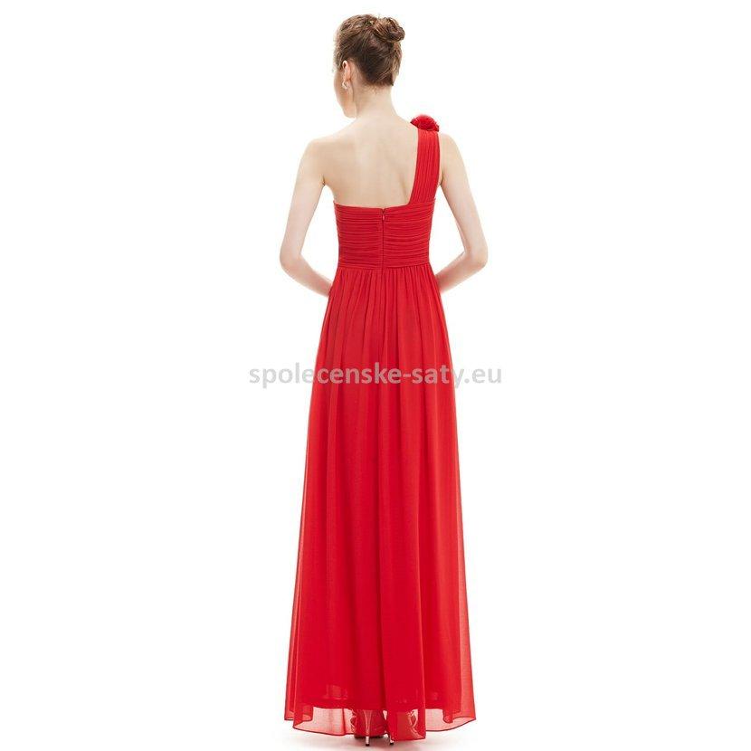84c043c3ca6b jednoduché společenské šaty na jedno rameno svatba levně Frýdek Havířov  Třinec