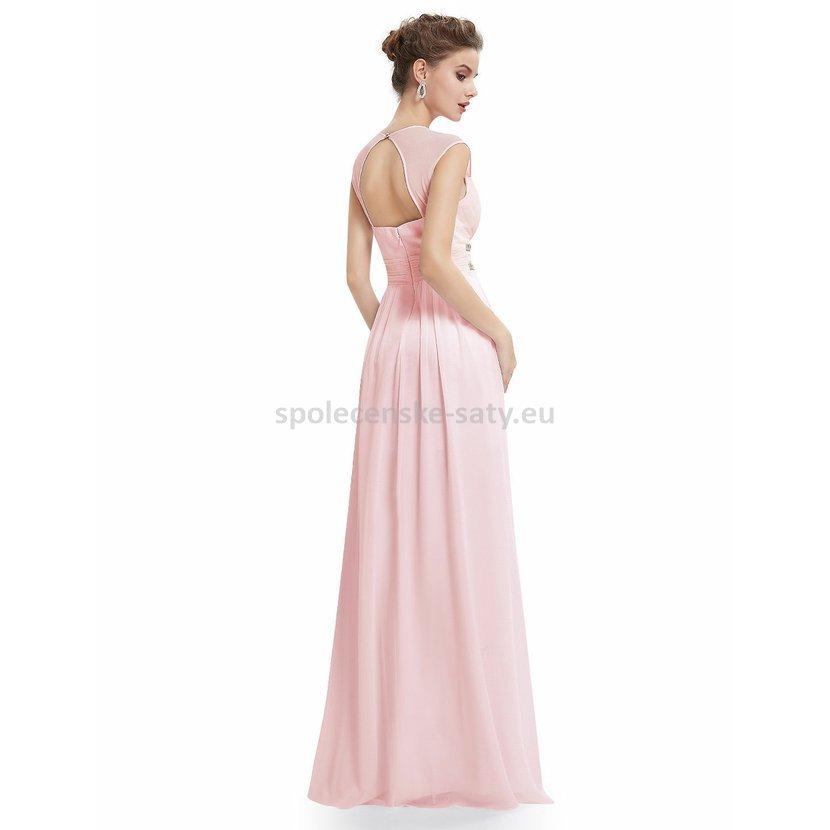Růžové dlouhé společenské šaty ve stylu řecké bohyně 42 XL · růžové dlouhé  šaty jednoduché řecké antické Ostrava levně c7b2a85c793