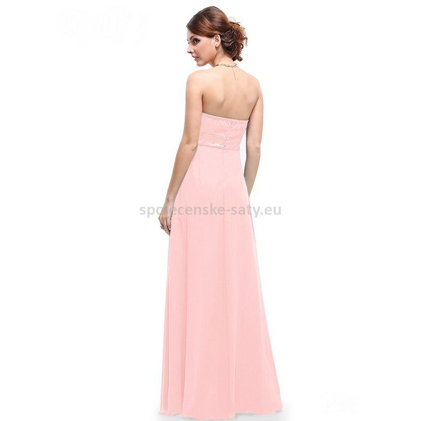 růžové šaty pro družičku svědkyni nevěstu salon Frýdek Ostrava Jičín Krnov bb035f7aac