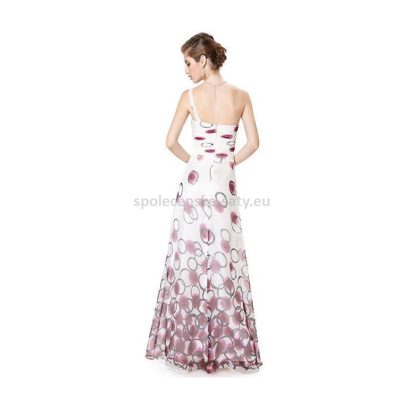 0361a48d122 Bílé dlouhé letní šaty s na jedno rameno 34 XS