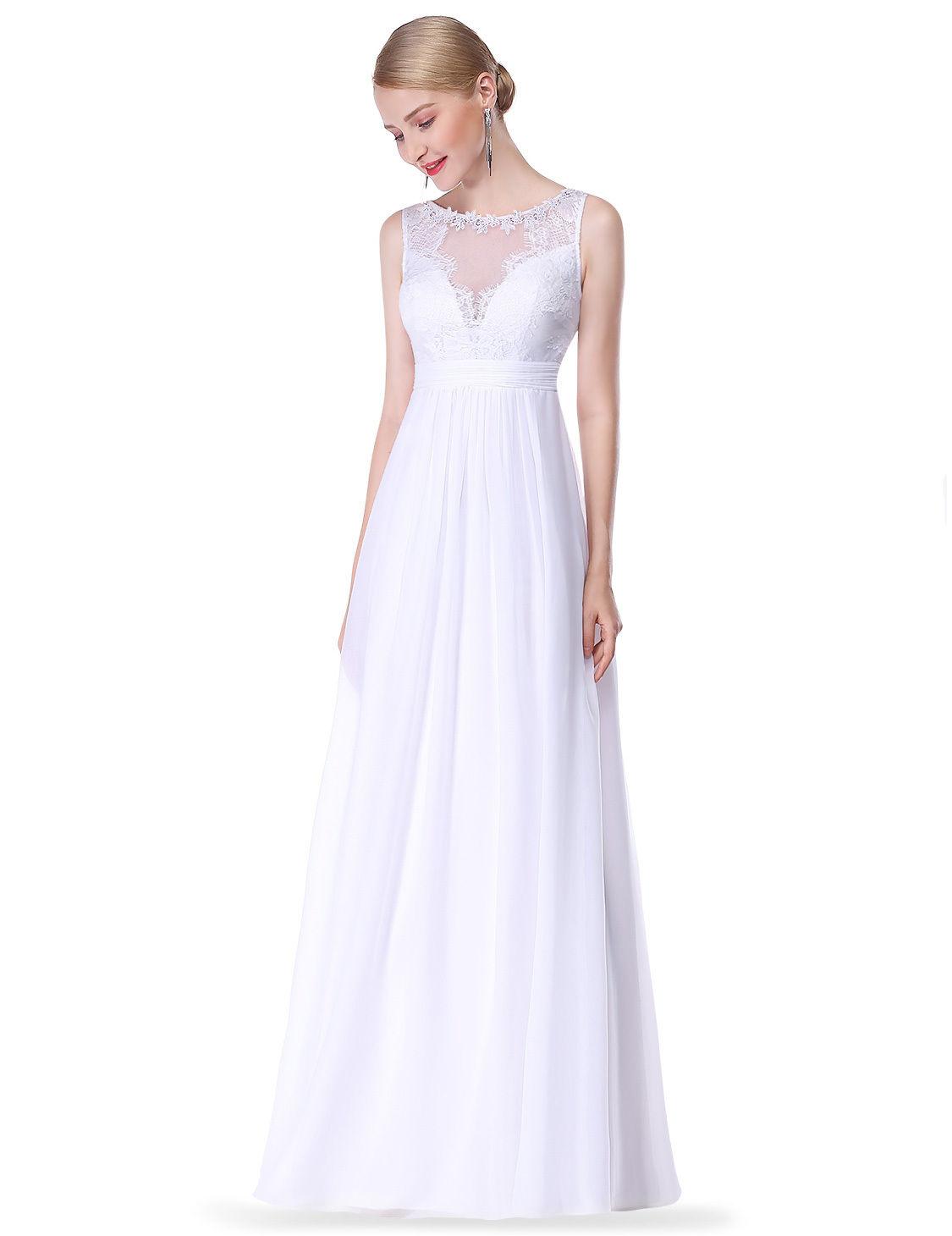 Jednoduché svatební šaty i pro starší nevěsty  702c59c798