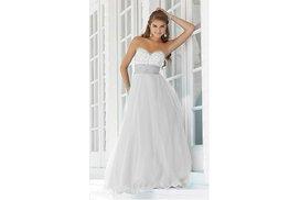 Bílé šaty do tanečních na věneček  68180744d4