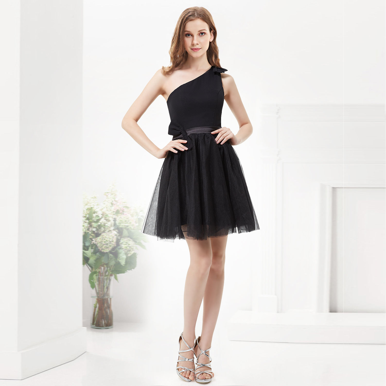Černé koktejlové šaty na pohřeb svatbu promoce  adb4487bd84