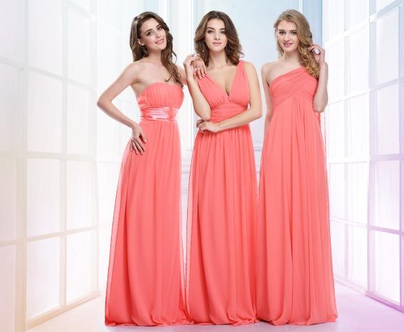 ed0a5953e85c Šaty pro družičky svědkyně na svatbu levně