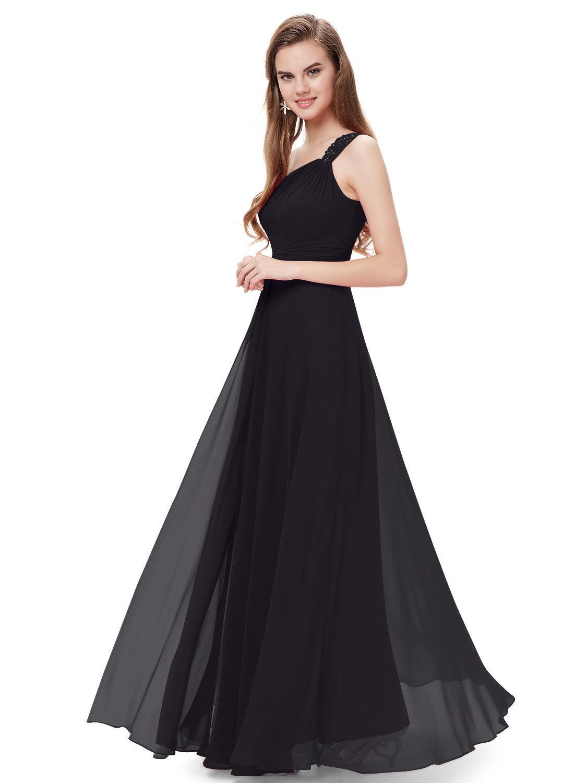 Černé dlouhé šaty na ples na svatbu do tanečních 46 xxxl ... 96394548fa