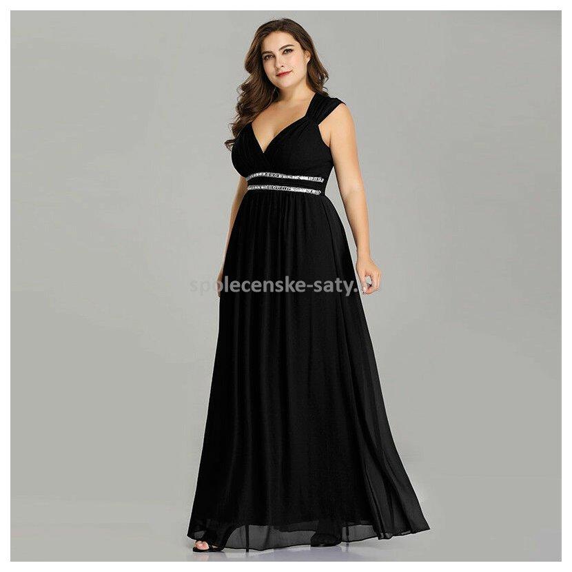 033ba34c60d3 Černé dlouhé společenské šaty ve stylu řecké bohyně 50