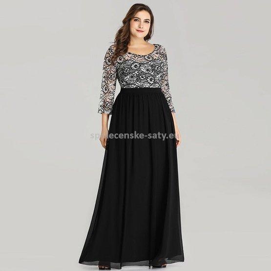 827ef63a7490 Dlouhé společenské šaty pro plnoštíhlé na ples 54