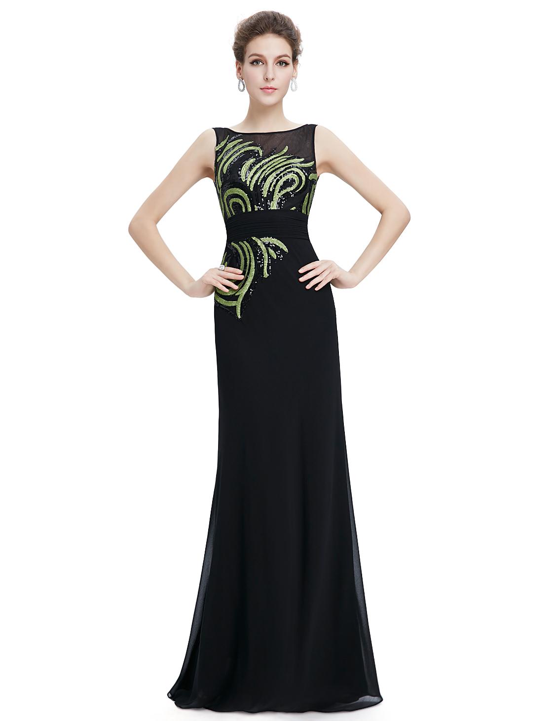 Dlouhé šaty i pro starší dámy  1ebe417493