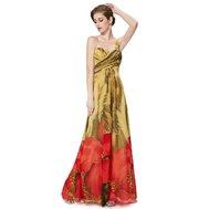 02493e842b8e Zelené dlouhé společenské šaty s krémovou na jedno rameno 38 M ...