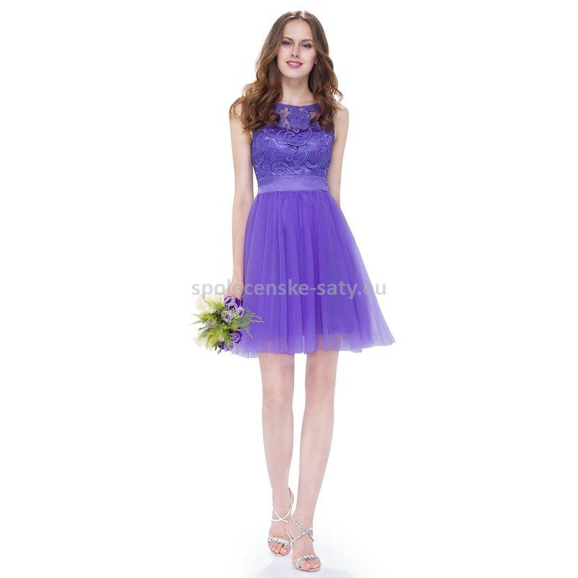 Modré krátké plesové šaty s baletkovskou sukní 44 XXL  7bfb483d1c9
