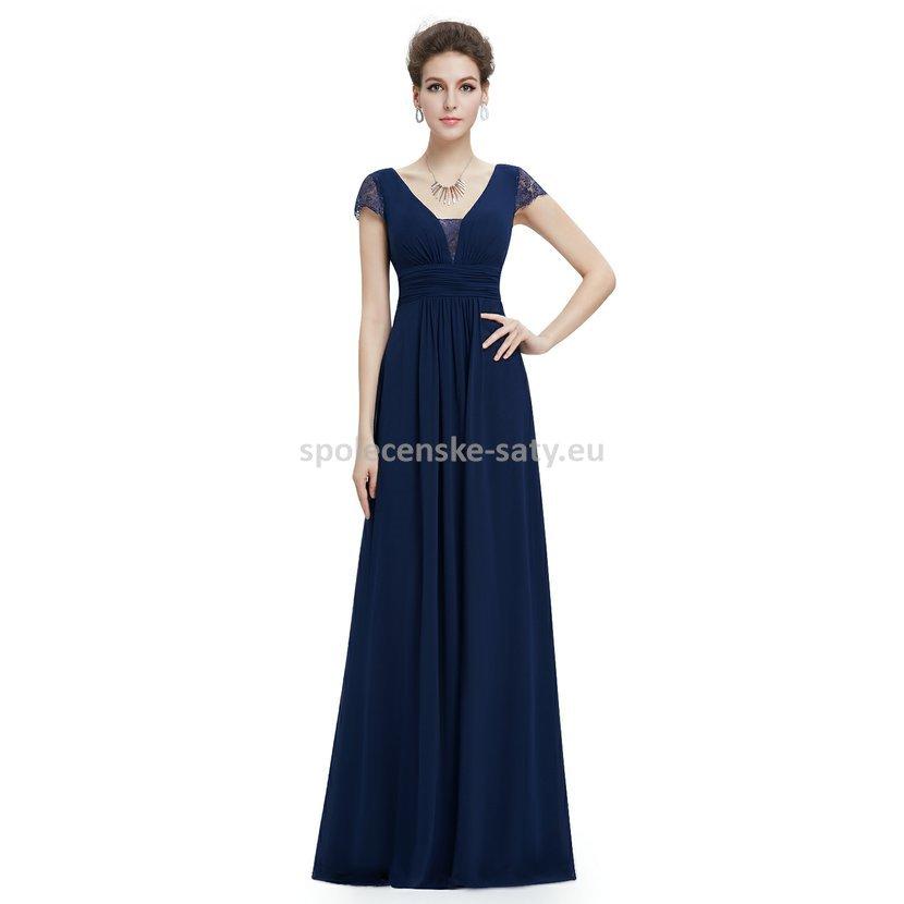 f118b56ac8a ... Modré dlouhé společenské šaty s rukávkem 34. modre-tmave-dlouhe- spolecenske-saty1.jpg