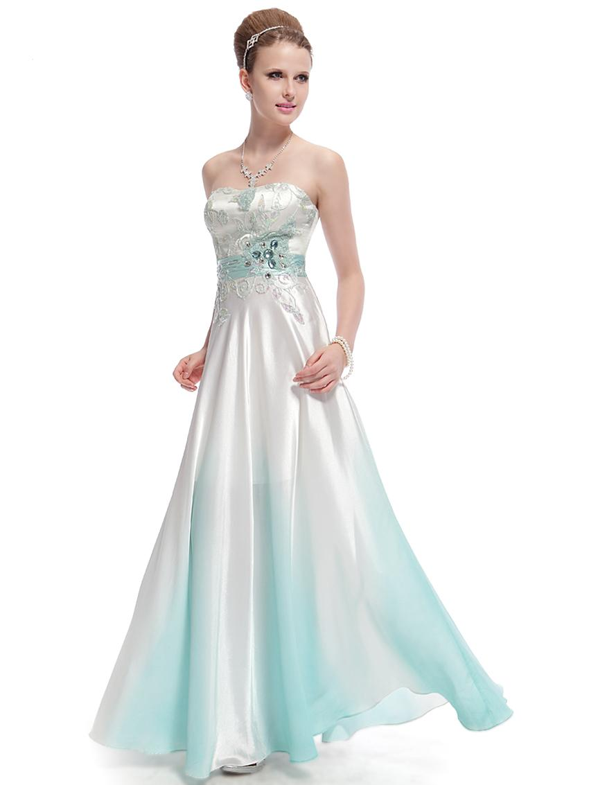 Společenské plesové šaty dle typu postavy  54548ba666