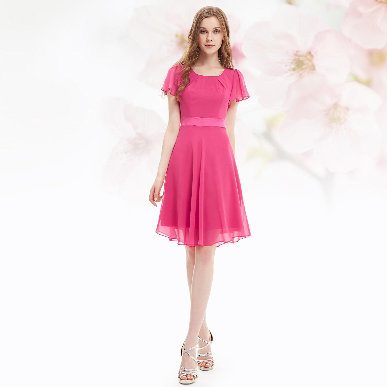 Růžové krátké společenské šaty koktejlky s rukávem 44 XXL ... b7e851c7f6