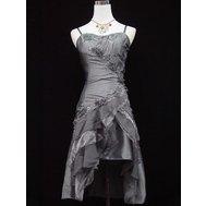 Krátké šaty na svatbu ples promoce pro plnoštíhlé  8bb755b6a6