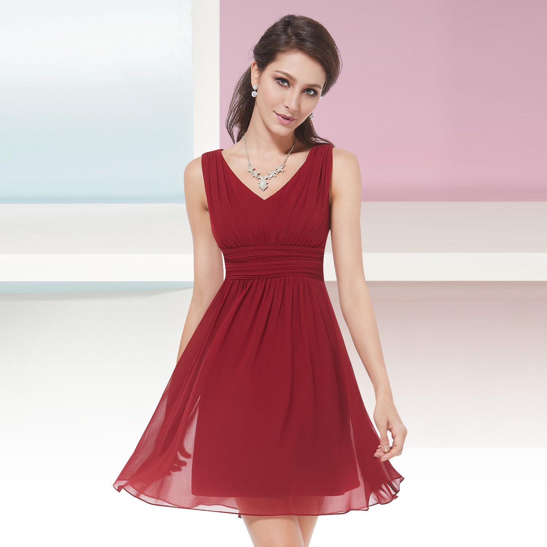 b482aefea932 Červené krátké společenské šaty na svatbu promoce 44 XXL ...