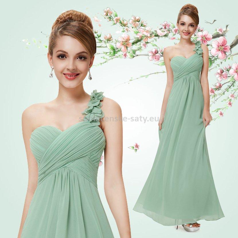 ... šaty na rameno i pro těhotné 38. zelene-svetle-dlouhe-plesove-saty1.jpg 67e8af37077
