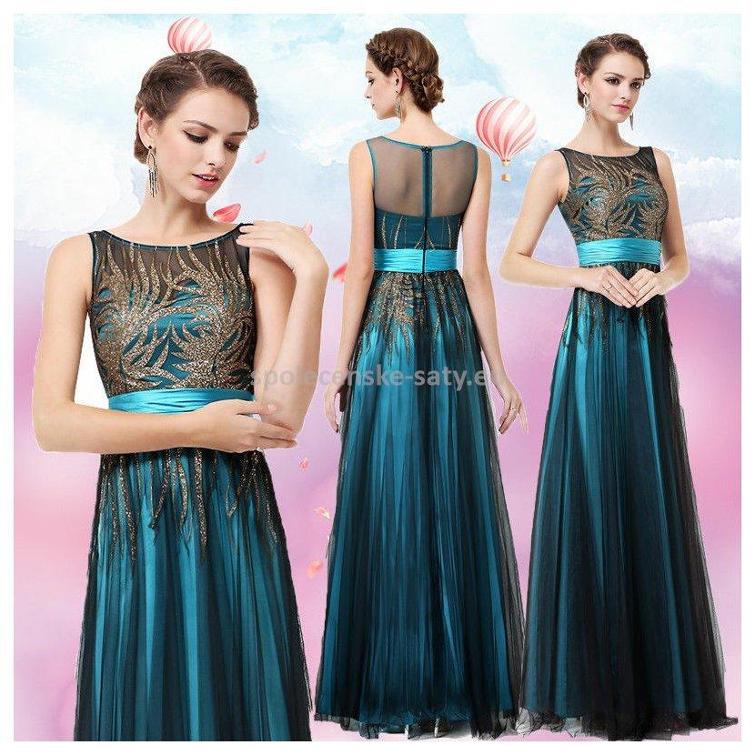 6b636275c555 ... Tyrkysové černé dlouhé plesové šaty 38.  tyrkysove-cerne-dlouhe-tylove-saty4.jpg